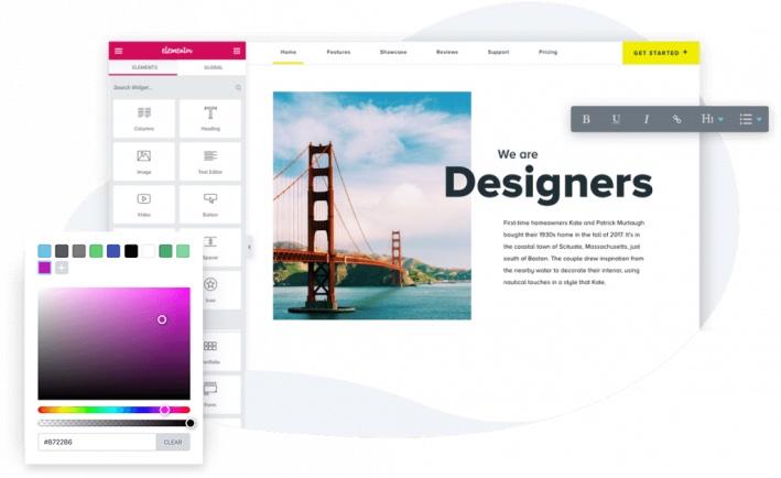 design site web et site internet